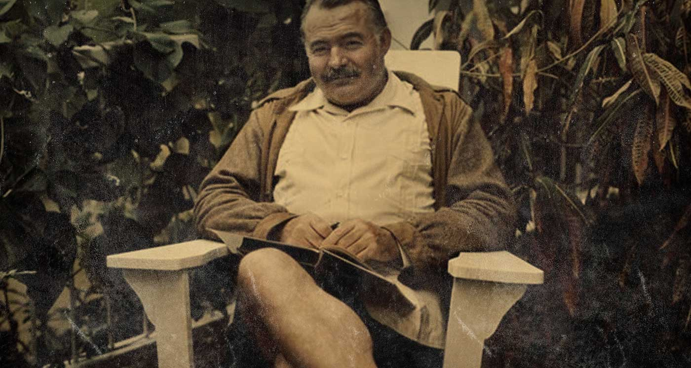 an introduction to the inspirations of ernest hemingway 5 days ago   and victory that makes the old man and the sea, ernest hemingway's classic  novella, so profound  a man finds inspiration from others.