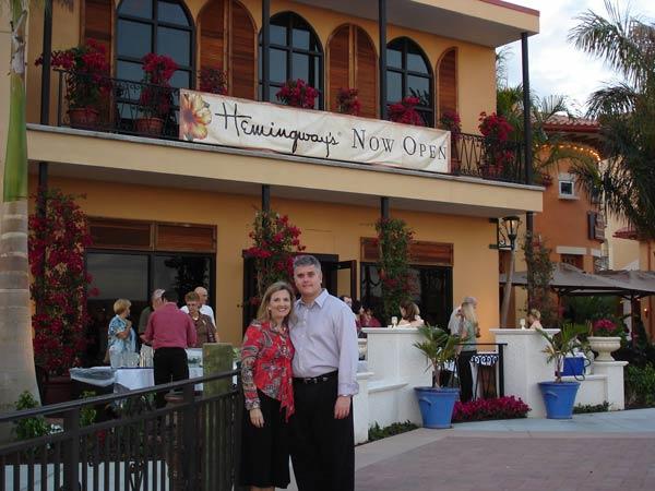 Hemingway Restaurant Pensacola Beach Menu