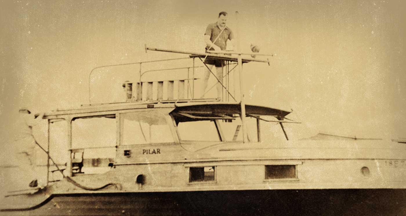 Ernest Hemingway Pilar Model Boat